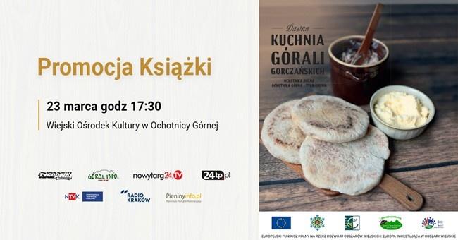 Zaproszenie Na Promocję Książki Dawna Kuchnia Górali